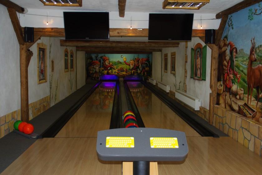 Doppel Bowlingbahn